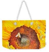 Bee And Sunflowers Weekender Tote Bag