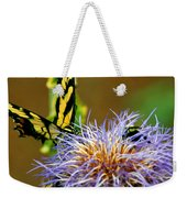 Bee And The Butterfly Weekender Tote Bag