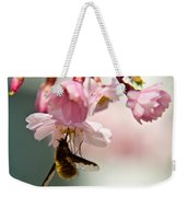 Bee Fly Feeding 2 Weekender Tote Bag