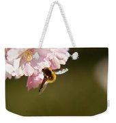 Bee Fly Feeding 4 Weekender Tote Bag
