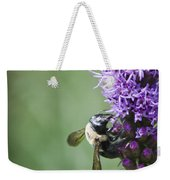 Bee On Gayfeather Weekender Tote Bag