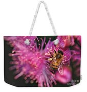 Bee On Lollypop Blossom Weekender Tote Bag
