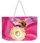Bee The One Weekender Tote Bag
