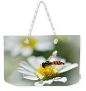 Bee With Rainbow Wings Weekender Tote Bag