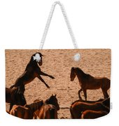 Before The Herd Weekender Tote Bag