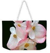Begonia Flower Gems Weekender Tote Bag