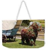Begonia Horse Weekender Tote Bag