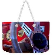 Behind The Wheel Of A 1940 Ford Weekender Tote Bag