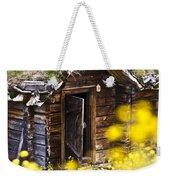 Behind Yellow Flowers Weekender Tote Bag