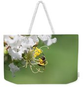 Being A Bee Weekender Tote Bag