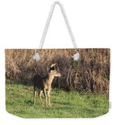 Being Aware - Deer Weekender Tote Bag