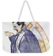 Bela Lugosi Weekender Tote Bag