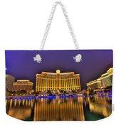 Belagio Las Vegas Weekender Tote Bag by Nicholas  Grunas