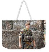 Belgian Soldier On Guard Weekender Tote Bag