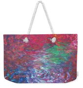 Belief In Cool Fire Weekender Tote Bag