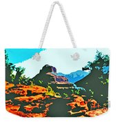 Bell Rock Sedona Arizona Weekender Tote Bag