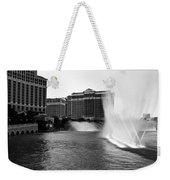 Bellagio Fountains II Weekender Tote Bag