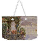 Bellagio From Tremezzo Weekender Tote Bag