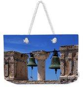 Bells Of Santorini Greece Weekender Tote Bag