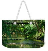 Below The Bridge Is Another World Weekender Tote Bag