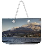 Ben Nevis And Loch Linnhe Panorama Weekender Tote Bag