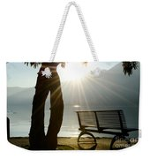 Bench And A Tree Weekender Tote Bag