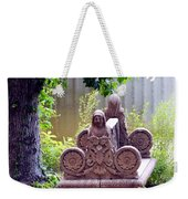Bench By The Lake Weekender Tote Bag