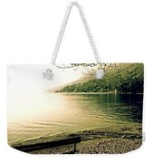 Bench In Autumn Weekender Tote Bag by Joana Kruse