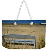 Bench On The Beach Weekender Tote Bag
