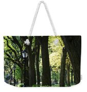 Benches Trees And Lamps Weekender Tote Bag