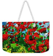Beneath The Autumn Tree Weekender Tote Bag