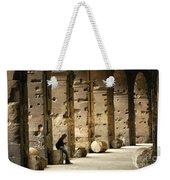 Beneath The Colosseum Weekender Tote Bag
