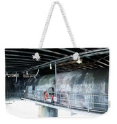 Beneath The Platform Weekender Tote Bag