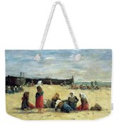 Berck - Fisherwomen On The Beach Weekender Tote Bag