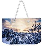Bergen Winter Weekender Tote Bag