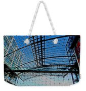 Berlin Central Station ...  Weekender Tote Bag by Juergen Weiss
