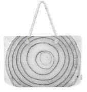Bermuda Onion Spiral Bw Weekender Tote Bag
