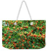 Berries In Profusion Weekender Tote Bag