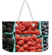 Berry Baskets Weekender Tote Bag