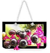 Berry Burst   Poke Berries Weekender Tote Bag