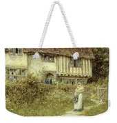 Beside The Old Church Gate Farm Smarden Kent Weekender Tote Bag