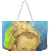 Best Buddies Weekender Tote Bag