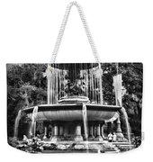 Bethesda Fountain Weekender Tote Bag