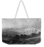 Bethlehem Engraving By William Miller Weekender Tote Bag