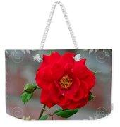 Betty's Red Rose Weekender Tote Bag