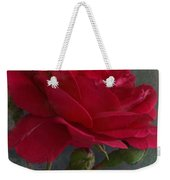 Betty's Red Rose II With Decorations Weekender Tote Bag