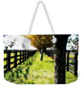 Between Two Farms Weekender Tote Bag