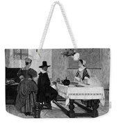 Between Two Fires, C1892 Weekender Tote Bag