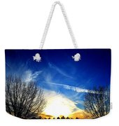 Between Two Trees Weekender Tote Bag