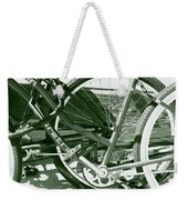 Bevy Of Beach Bikes Weekender Tote Bag